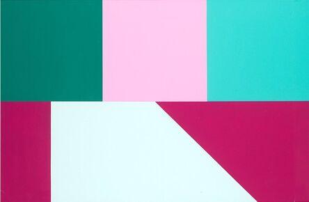 Sergio Lombardo, '5-chromatic minimal toroidal map n. 9', 1999