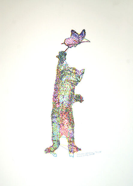 Patrick Lichty, 'RIC: Random Internet Cat #9', 2014