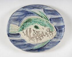 Pablo Picasso, 'Poisson bleu (A.R.180)', 1953