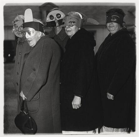 Diane Arbus, 'Untitled (five women in masks)', 1970-1971