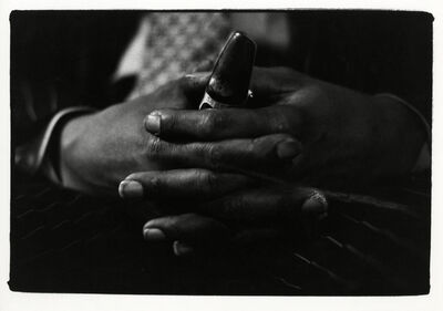 Adger Cowans, 'Mouthpiece and Hands', ca. 1980s