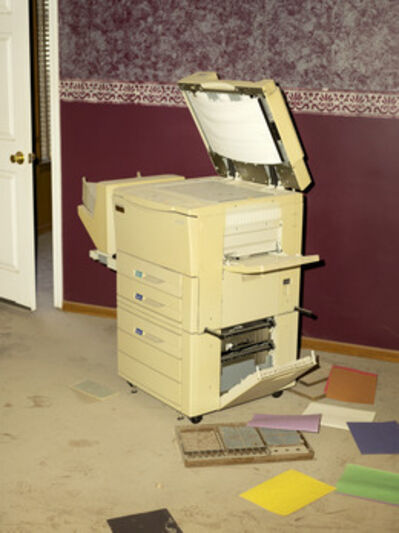 Peter Funch, 'Photocopy Machine'