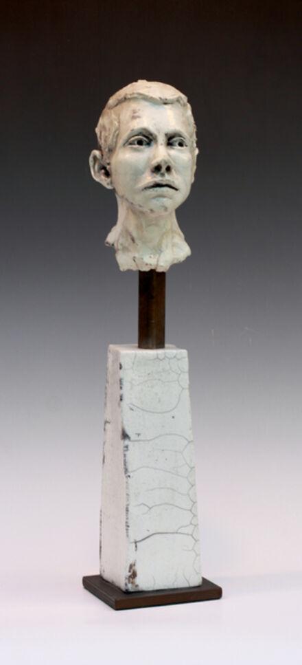 BOB CLYATT, 'Man on Pillar looking to side v3', 2014