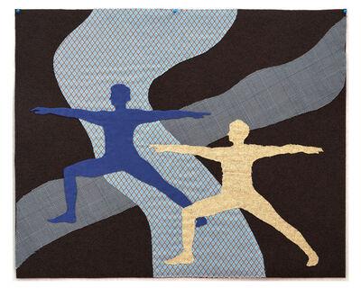 Aurora Kiraly, 'Soft Drawings: Subconscious Narratives, Warrior Pose', 2020