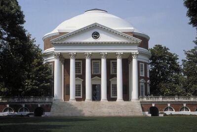 Thomas Jefferson, 'The Rotunda, University of Virginia', 1822-1826