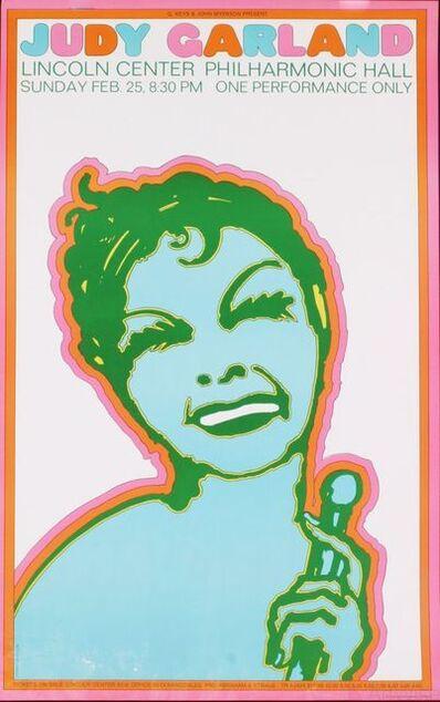 Seymour Chwast, 'Judy Garland', 1967