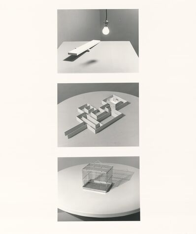 Jo Ann Callis, 'Still Life with Maze', 1981-1983