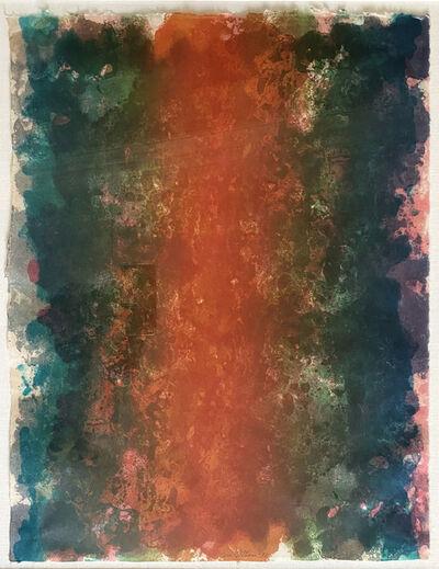 Sam Gilliam, 'FIRE', 1972