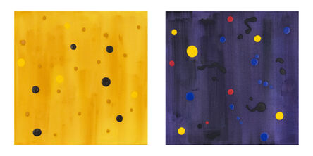 Milly Ristvedt, 'Starry Night Yellow and Dark Energy', 2002