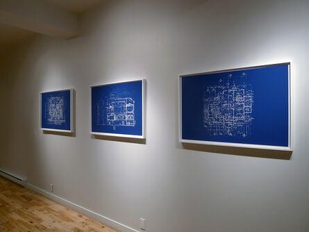 Valérie Kolakis, 'UNTITLED (BLUEPRINT FOR AN UNBUILT HOUSE)', 2012