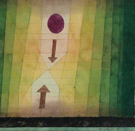 Paul Klee, 'vor dem Blitz (Before the Lightning)', 1923