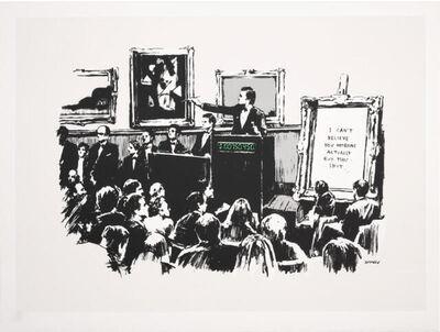 Banksy, 'Morons (UNSIGNED, Pest Control COA)', 2007
