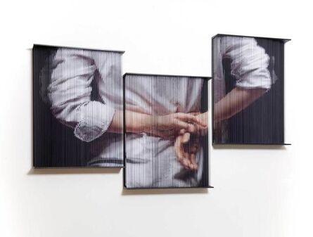 Sung Chul Hong, 'String Mirror 0927 (Triptych)', 2016