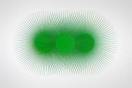 Shasti O'Leary Soudant, 'Burst Star (green, green, green)', 2019