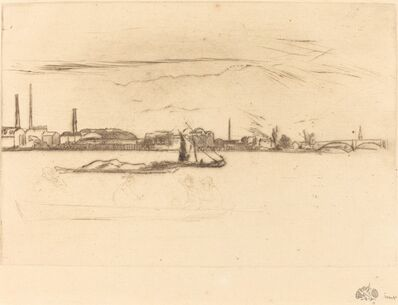 James Abbott McNeill Whistler, 'Price's Candle-Works', ca. 1875