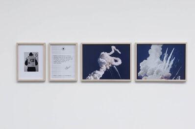Gianni Motti, 'Revendication, Challenger 1986', 1986