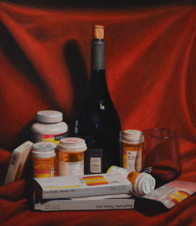 Jen Brown, 'Pills and Booze', 2019