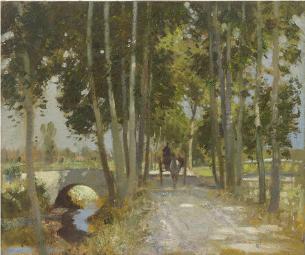Edward Seago, 'A Road in Italy', Early 20th century