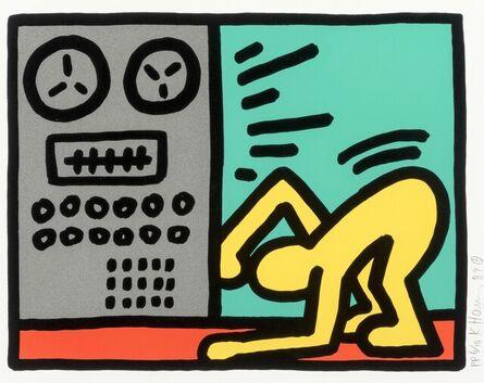 Keith Haring, 'Pop Shop III (4)', 1989