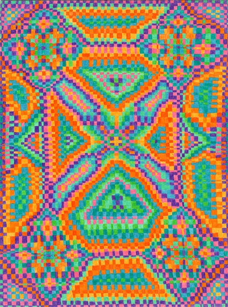 Todd Kelly, 'Grid Drawing September 13, 2014', 2014