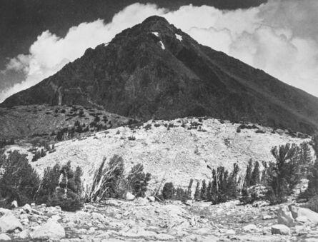 Ansel Adams, 'Pinchot Peak in Kings River Sierra', 1938