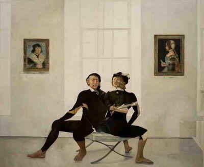 Patrick Pietropoli, 'On the X Chair'