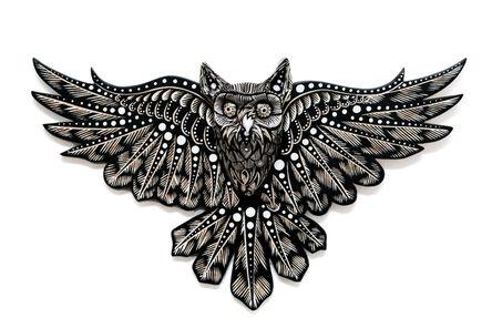 Dennis McNett, 'Owl Spirit IV', 2018