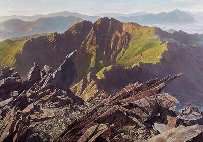 LIU De-Lang, 'Ruby on the Top of the Mountain', 2017