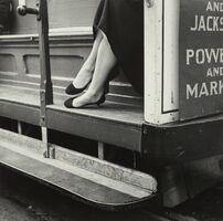 Dorothea Lange, 'Cable Car, San Francisco', 1956
