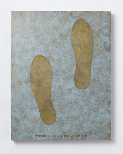 Yoko Ono, 'Painting to Be Stepped On', 1988