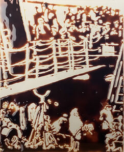 Vik Muniz, 'The Steerage (After Stieglitz) from Pictures of Chocolate', 2000