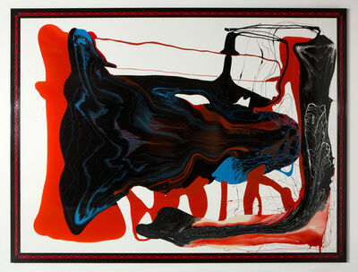 Dale Frank, 'I am a genius', 2013