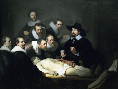 Rembrandt van Rijn, 'The Anatomy Lesson of Dr. Nicolaes Tulp', 1632