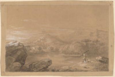 Thomas Cole, 'The Good Shepherd', 1847
