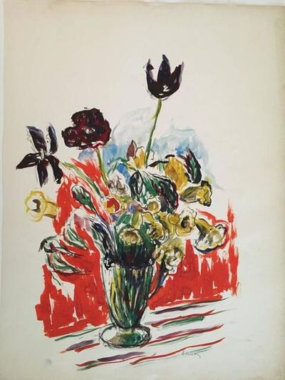 Katherine Librowicz, 'Bold Flowers in a Vase', 20th Century