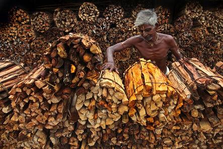 Somenath Mukhopadhyay, 'Wood Man'