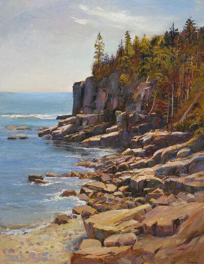 Joel Babb, 'Otter Cliffs, Mt. Desert Island, Maine', 2011