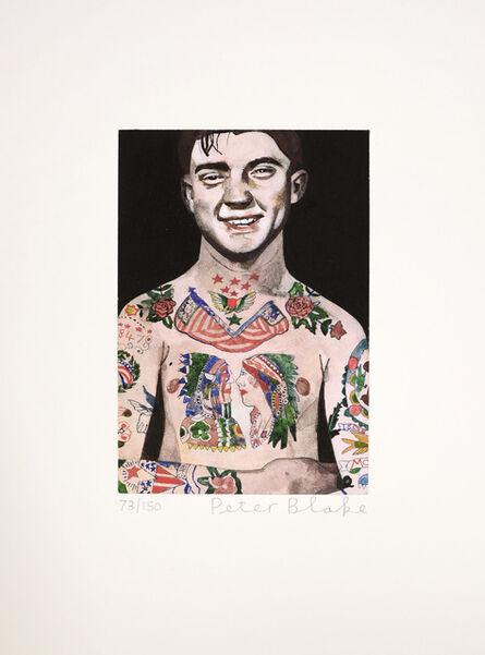 Peter Blake, 'Tattooed People', 2017