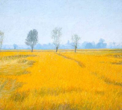 Nicholas Verrall, 'Sea of Wheat, Normandy', 2020