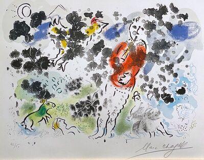Marc Chagall, 'Le Clown À La Flûte I', 1970