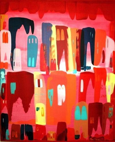 Rana Raouda, 'Bonheur en Couleur, Nids d'Amour series', 2008