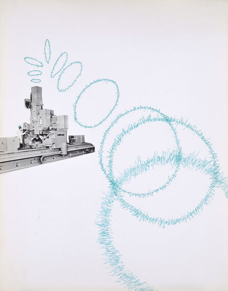 Bernard Heidsieck, 'Machine à mots, n°23', 1971