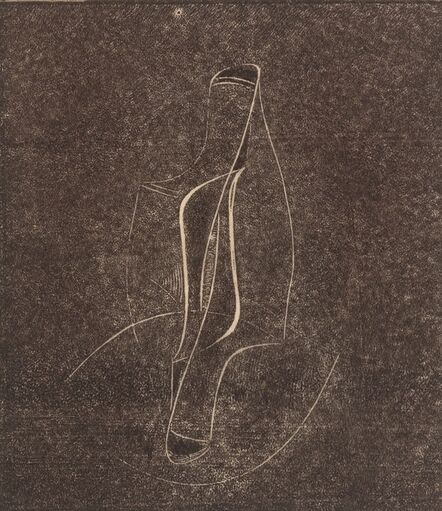 Naum Gabo, 'The Lyre Bird (Opus 4)', 1950
