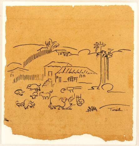 Tarsila do Amaral, 'Brazilian Countryside ', ca. 1924