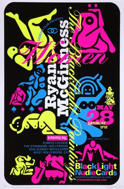 Ryan McGinness, 'Ryan McGiness Women Screenprint (Neon)', 2010