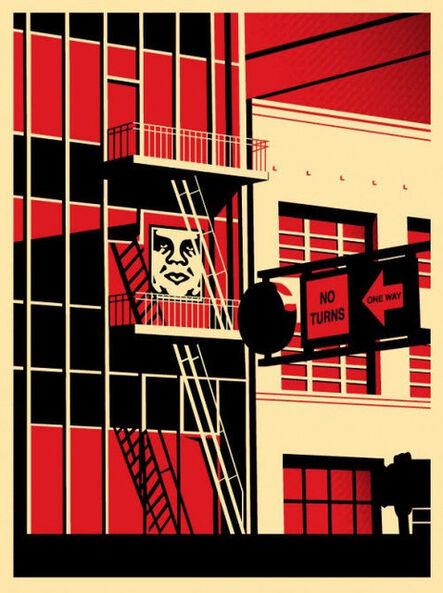 Shepard Fairey, 'SF Fire Escape', 2011