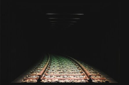 Chul-Hyun Ahn, 'Railroad (Curve to the Left)', 2018
