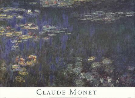 Claude Monet, 'Waterlilies: Green Reflections I', 1998