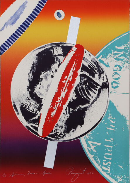 James Rosenquist, 'Spinning Faces in Space', 1972