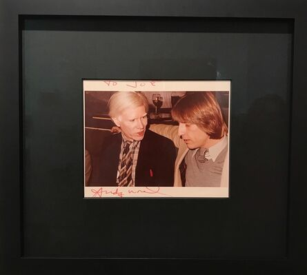 Andy Warhol, 'Photograph while talking', 80